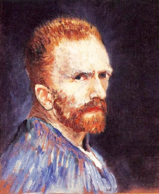 autorretratos de Vincent van Gogh
