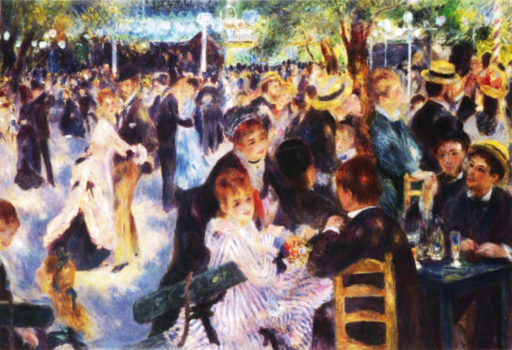 Auguste Renoir Principais Obras - Le Moulin de la Galette