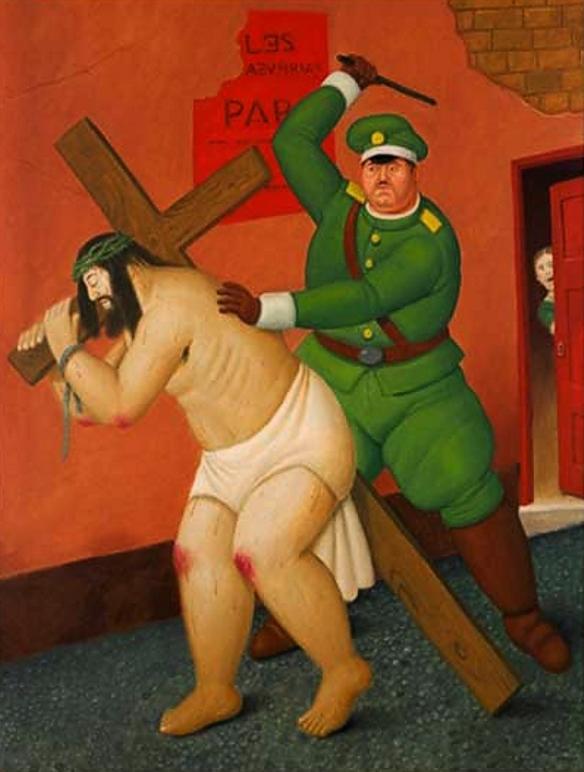 Via Sacra, de Fernando Botero