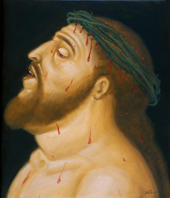 Via Sacra, de Fernando Botero - coroa