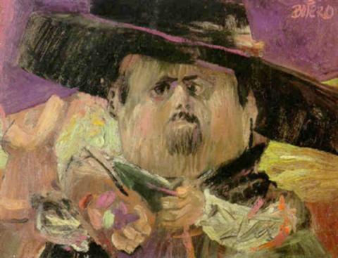 A Obra de Fernando Botero - Autorretrato